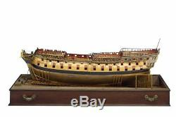 Hms Bellona Echelle 1/48 1250mm Session 4 Ensemble De Navires En Cuir Naval De 74 Armes