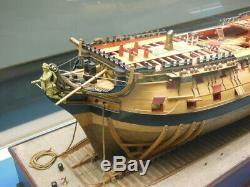 Hms Bellona Scale 1/48 1250mm Session 2-3 Kit De Navires De Combat Cuirassé En Bois 74