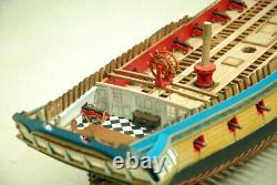 Hms Enterprize Frégate 28 Canon Pof Scale 1/48 840 MM 33 Wood Ship Model Kit