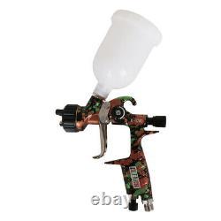 Hvlp Automatique De Peinture Air Spray Gun Kits Alimentation Par Gravité Voiture Primer 1.3mm Buse 600ml