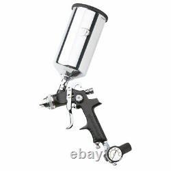 Ingersoll Rand 270g Edge Series Hvlp Gravity Feed Spray Gun Kit, Noir