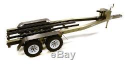 Integy Rc C27640gun Double Essieu Remorque À Bateau Kit Échelle 1/10 Rc 670x190x160mm