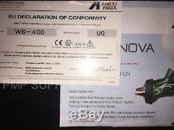 Iwata Ws400 Lotus Edition Limitée Pistolet Pulvérisateur 1.3 Hd Master Kit Vernis