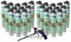 Joint Spray Closed Cell Insulating Foam Can Kit Withgun Foam Applicator (600 Bf)