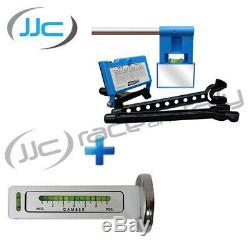 Kit D'alignement / Suivi De Roue Laser Trackace + Cambre Trackrite + Jauge À Roulettes