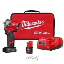 Kit De Clé Pour Pistolet À Chocs À Entraînement Sans Fil 3/8 M12 Fuel Milwaukee M4