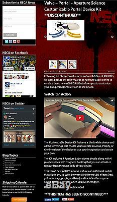 Kit De Dispositif Personnalisé Ashpd Pour Vanne De Réplique De La Réplique De La Valve Prop Du Pistolet Portail Portal Neca