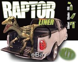 Kit De Doublure De Caisse De Camion Noir U-pol Raptor Avec Pistolet Pulvérisateur, 8l