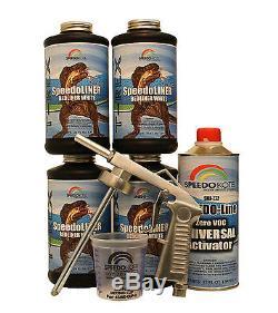 Kit De Doublure De Lit Pour Pulvérisateur Blanc T-rex, Smr-1000w-k4 Pour Camionnette Avec Pistolet Libre