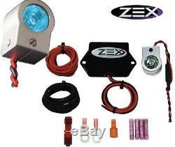 Kit De Lampe De Purge Nitreuse 82370-b Avec Lampe De Mitrailleuse Zex Rapid Gun Blue
