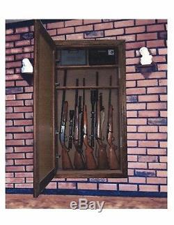 Kit De Matériel Pour Armoire À Pistolet Dans Le Mur Miroir / Cadre Non Inclus