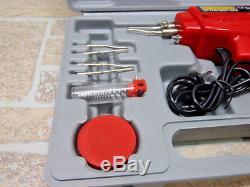 Kit De Pistolet À Souder Électrique 100 Watts Avec Fil De Flux Complet