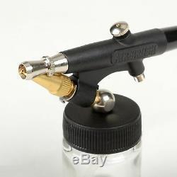 Kit De Pistolet De Pulvérisation Airbrush Airbrush Hobby Paint Starter Tool Modèle