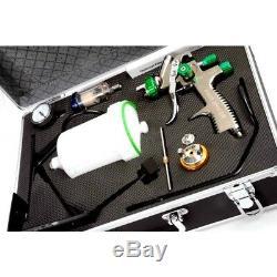 Kit De Pistolet De Pulvérisation Fmt Lvlp 1.3 1.8 MM Les Couleurs Des Pistolets Fmt4007 Peuvent Varier
