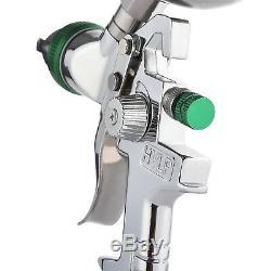 Kit De Pistolet De Pulvérisation Hvlp Par Gravité De 2,5 MM Avec Paillettes De Métal Pour Apprêt Automatique