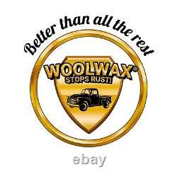Kit De Revêtement De Véhicule Woolwax #3. 5 Gal. Kit Pro Gun Avec 2 Baguettes. Clair Ou Noir
