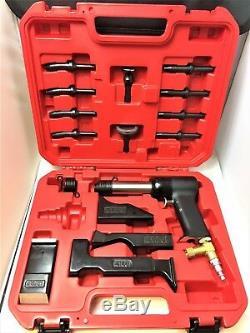 Kit Pistolet À Riveter Avec Barre À Frapper 4x Pistolet À Riveter Ensembles De Rivet Et Boîte À Outils Marque Neuve