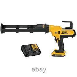 Kit Pistolet Adhésif Dewalt Dce570d1 20v Max 29 Oz Avec Batterie Et Chargeur