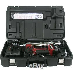 Kit Pistolet Graisseur Sans Fil Alemite 596-b1 20 Volts Lithium-ion À 2 Vitesses Avec Écran LCD