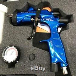 Kit Pistolet Pulvérisateur Hakone Ws400 1.3 Evo Turnpike Bleu Édition Limitée Anest
