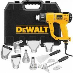 Kit Pistolet Thermique Dewalt D26960k De 13 A Avec Écran LCD