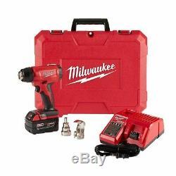 Kit Pistolet Thermique Milwaukee M18 Compact Avec (1) 5,0ah Batt, Chargeur Et Étui 2688-21