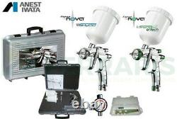Kit Pistolets À Peinture Anest Iwata Evo Supernova Pininfarina Ls400 1.3 & 1.2 Ws400 Effacer