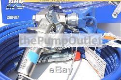 Kit Tuyau Et Fouet Pour Pistolet Pulvérisateur Sans Air Graco Contractor 288487 Avec Embout Rac X 517