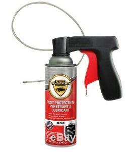 Kit # Undercoating Cire De Laine 1 Un Kit De Gallon Avec Baguettes Magiques De With2 Pro Gun. Effacer Ou Noir