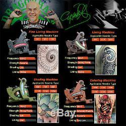 Kits Tatouage Professionnel Ensemble Complet __gvirt_np_nn_nnps<__ Doublure Machine Gun Et En Brouillant Encres Tattoo