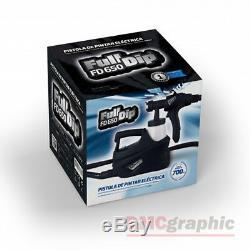 La Pleine Immersion Électrique Hvlp Peinture En Aérosol Pistolet Pulvérisateur Kit Pour Plasti Dip Liquide Vinyle