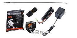 Lancer Tactical Airsoft Carabine Aeg Carabine Avec Flotteur Libre + Batterie + Chargeur