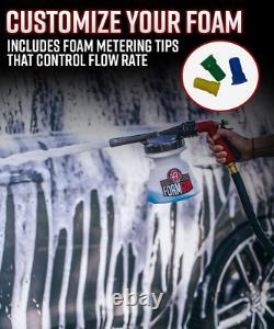 Laver La Voiture Mousse De Savon De Savon Shampooing Nettoyage Automatique Outil De Détail Kit Garden Hose Jet