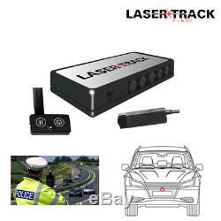 Lazer Track Flare Kit De Transpondeur Simple Capteur De Vitesse Pistolet À Faisceau Lazer Détecteur