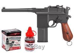Legends M712 - Kit Complet De Pistolets À Co2 Pour Co2 - Full Metal 18rd Mag Blowback 0,177 Cal