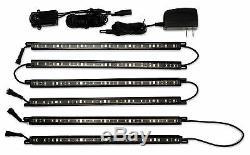 Liberty's Clearview Led Gun Safe Vault Kit De Lumière Flexible Détecteur De Mouvement 6 Baguettes