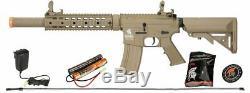 Lt-15ctl-g2 Gen2 Lancer Tactique Airsoft Rifle M4 Sd Aeg 6mm Gun + Batterie Kit