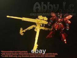 M. R Rw 02 Thunderbolt Zeon Big Gun Full Resin Kit Pour Mg 1/100 Hg 1/144 Gundam
