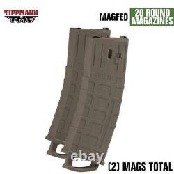 Maddog Tippmann Tmc Magfed Argent Hpa Paintball Gun Marker Kit De Démarrage Tan