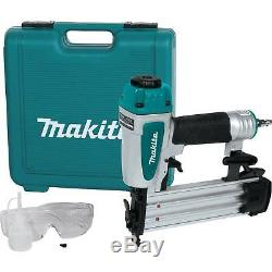 Makita Af505n Nouveau 2 Calibre 18 Pneumatique Air Cloueuse Cloueuse Kit