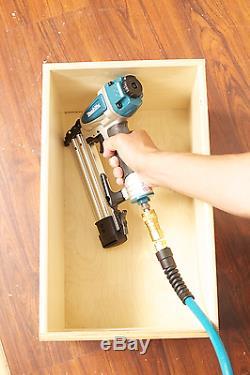 Makita Cloueuse Cloueuse Pneumatique Air 2 Pouces De Calibre 18 Lunettes Set Tool Kit