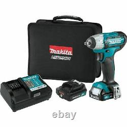 Makita Wt02r1 12 Volts 3/8 Drive 2.0 Max Cxt Cordless Impact Gun Wrench Kit