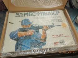 Mgc Réplique De Tir De Bouchon Modèle De Pistolet M16a1 Kit