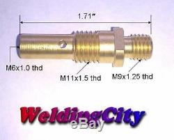 Mig Gun Kit. 035 Pour Lincoln 100l Tweco Mini / # 1 Tip-diffuer Buse M3