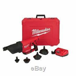 Milwaukee 2572a-21 M12 Air Serpent Deboucheurs Pistolet À Air Kit