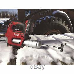 Milwaukee 2646-21ct Sans Fil Grease Gun Kit-18v, 10,000psi, 1 Batterie