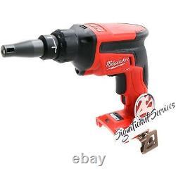 Milwaukee Fuel 2866-20 18 Volt 2.0 Ah XC Brushless Drywall Screw Gun Drill Kit