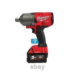 Milwaukee Mwm18onefhiwf34-502x M18 One Key 3/4 Drive High Torque Gun Kit, Multi