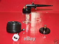Mini Air Brush Airbrush Pistolet À Peinture Kit De Peinture Au Pistolet Hobby Avec Adaptateur De Tuyau À Air