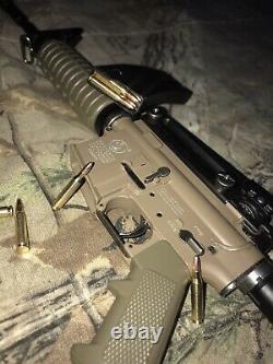 Mini Modèle Gun Tan M4a1 Très Détaillé (éjection D'une Couche)